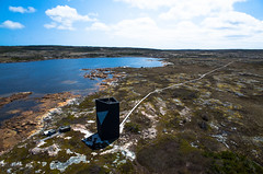 Aerial View of the Tower Studio from Shorefast Foundation (Pierre Lesage) Tags: canada newfoundland island kap cod fogo ricohgr kiteaerialphotography fogoisland autokap pierrelesage towerstudio kapstock deltar8 tahitipix toddsaundersarchitecture