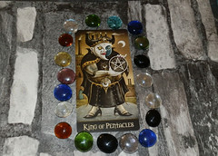 Card of the Day: King of Pentacles (AllAboutParanormal) Tags: card day deviant moon tarot king of pentacles interpretations cards the reading