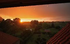 rainy sunset (Nicola G. Fotografie) Tags: sonnenuntergang regen wolken wolkenbruch sommer lndlich canon 1018 countryside rain sunset shower sundown fields nrw lippstadt clouds weather raindrops