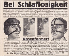 Nasenformer (micky the pixel) Tags: vintage germany nose deutschland advertisement werbung nase reklame anzeige nasenformer