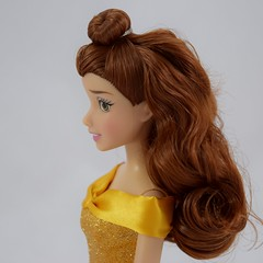 2016 Belle Classic 12'' Doll - US Disney Store Purchase - Deboxed - Standing - Portrait Right Side View (drj1828) Tags: disneystore doll 12inch classicprincessdollcollection 2016 purchase belle beautyandthebeast chip deboxed standing