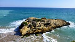 P1050769 (kevindalb) Tags: blue sea sky sun mer water soleil spring spain mare waves erasmus blu espana catalunya sole acqua colori espagne tarragona spagna 2016