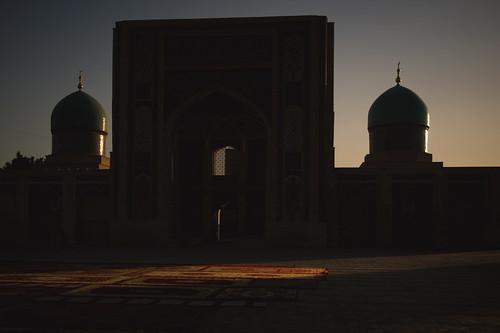 Sunset at Khast Imam; Tashkent, Uzbekistan