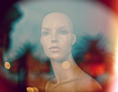 I Walk, I Look, I See, I Stop, I Photograph (Steve Lundqvist) Tags: street portrait reflection mannequin glass face shop model image models