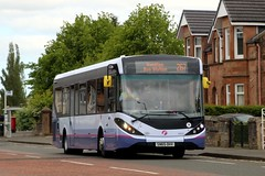 44655 SN65OHV First Glasgow (busmanscotland) Tags: glasgow ad first 200 alexander dennis mmc e200 enviro adl ohv 44655 sn65 200mmc sn65ohv