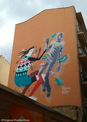 Graffity Casco viejo Zaragoza (Virginia Vicente Orna) Tags: graffiti graffity zaragoza