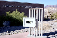 really death valley! 129 Fahrenheit = cca 54 !!! (oriana.italy) Tags: california usa deathvalley furnacecreek 129f img0317