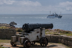Scillonian III (chrisfay55) Tags: islesofscilly ship gun cannon ferry uk cornwall england scilonian3 scilonianiii