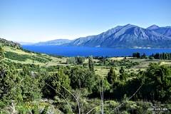 Lago Huechulafquen, volviendo desde Piedra Mala (pepelara56) Tags: mountain lago montaa montaas