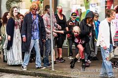 Zombie Walk Hmeenlinna (Mtj-Art - Thanks for over 1,5M views :)) Tags: hmeenlinna markuskauppinen zombie zombiewalk keskuu kulkue tapahtuma tapahtumakuvaus hmeenlinna keskuu wwwmtjartcom 2014 tavastehus summer dead kuollut kuolleet elvtkuolleet epkuollut valokuvaaja photographer photography eventphotography suomi finland hirvi monster meikkaus meikattu makeup pentax walking kuollutmieskvelee deadmaniswalking
