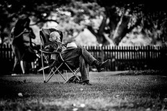 Lazing on a Sunday Afternoon (Hugh Rawson) Tags: godalming streetphotograph monochrome street mono streetphotography bw urban blackandwhite uk surrey