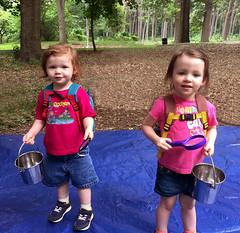 Mud School Explorers (JFGryphon) Tags: forestpark tinkergarten