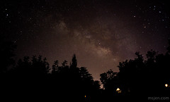 View from the Back Porch: The Milky Way (Ms. Jen) Tags: california sky mars night nightscape sagittarius astrophotography planets astronomy nightsky saturn 24mm bishop constellations milkyway scorpius ophiuchus 24mmlens nikond800 photobyjeniferhanen nikon24mmmanuallens june2016 msjencom