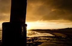 Untitled (Wouter de Bruijn) Tags: sunset sea sky sun abstract beach nature night clouds landscape evening coast bokeh outdoor dusk depthoffield fujifilm vlissingen flushing xt1 windorgel fujinonxf14mmf28r