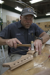 (Intraktable) Tags: wood building college students stain sign shop writing project neck georgia stem paint university guitar outdoor body room board glue text indoor spray teachers fret signboard drill kennesaw bansaw guitarbuildingorg