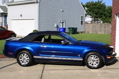 After (BennyPix) Tags: auto blue copyright detail ford june virginia suffolk compound automobile shiny paint convertible polish wash chrome va wax mustang 2008 allrightsreserved 2016 metalflake claybar unauthorizedusestrictlyprohibited rzrback unlicensedcommercialuseprohibited