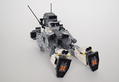 CSA - MK-02A Velites (ExclusivelyPlastic) Tags: design robot lego space military figure scifi mecha mech zeon gelgoog gundamish