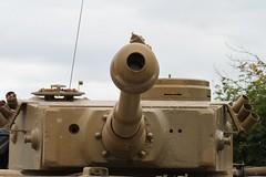 88mm Gun of a Tiger Tank (delta23lfb) Tags: tankmuseum 131 gunbarrel bovington 88mm tigertank tankfest germanarmour