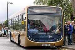 28748 YN65 XFZ (Cumberland Patriot) Tags: west bus buses gold floor low north cumbria depot motor e300 300 alexander dennis ltd keswick cumberland cms services stagecoach x4 scania enviro x5 adl in workington 28748 lillyhall n230ub transcumbria yn65xfz