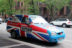 ChipShop NYC (Canadian Pacific) Tags: brooklyn newyork city usa us america american unitedstates ofamerica parkslope aimg6711 car auto automobile chipshop nyc british culture bollocks license licence plate reliant robin threewheel threewheeled threewheeler