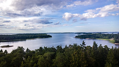 View from a watchtower at Grs Island, Uppland, Sweden (patrickmandersson) Tags: sweden uppland sea seaview ocean oceanview watchtower nature