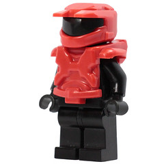 Mark 5 Armor Set - Red (X39BrickCustoms .com) Tags: lego brick mark 5 new armor halo space marine x39brickcustoms brickarms legos production red vs blue minifigures minifigs