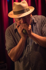 50566 Paul Mejia on Blues Harp (POV Heartland) Tags: musician music minnesota sony roots blues nightclub e harp harmonica bluesharp theblues fridley crooners rootsmusic rootsandblues a6300 croonerslounge fe90mmf28 ilce6300