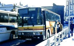 Slide 065-97 (Steve Guess) Tags: uk england london volvo coach gb vanhool rapide b10m nfj380w tratherns
