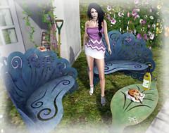 ~140~ Nothing But Flowers (Fashion Graffiti Blog) Tags: fashion monalisa secondlife ikon dela slink earthstones lelutka disopera zibska theliaisoncollaborative 7deadlys{k}ins hillyhaalan cosmopolitanevent {zoz}