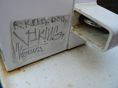 viking slap faded (httpill) Tags: streetart chicago art graffiti sticker tag graf slap viking slaptag