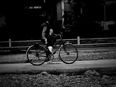 Ready for a ride (Geo.M) Tags: city sea blackandwhite white black beach bike greek george seaside afternoon ride greece finepix fujifilm noon bikeride poli giorgos ellas ellada thessaly   elliniko  thessalia agria  podilato          miliokas  jx350   fujifilmfinepixjx350