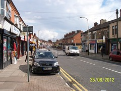 Leicester, Green Lane Road (ZacharyKent) Tags: city england geotagged europe leicestershire unitedkingdom leicester 2012 eastmidlands thebiggestgroup wikimapia streetroadview kodakeasysharez1285zoom