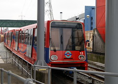 Docklands Light Railway  13 (chrisbell50000) Tags: light london station train royal rail railway victoria docklands 13 dlr chrisbellphotocom
