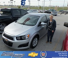 Crossroads Chevrolet Cadillac would like to wish a Happy Birthday to Patricia Ingle! (Crossroads Chevrolet Cadillac) Tags: new chevrolet car sedan truck wagon happy pickup cadillac mo used vehicles chevy missouri bday van minivan suv crossroads luxury coupe dealership caddy joplin shoutouts hatchback dealer customers 4dr 2dr preowned
