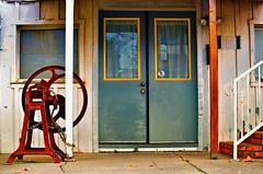 Knocking on Heaven's Doors (DolceBeat) Tags: street house doors random antique