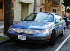 San Francisco, California - USA (Mic V.) Tags: california ca city usa classic ford car america sedan vintage us san francisco mercury united group sable first voiture collection american 1989 states saloon generation ls berline ancienne lightbar 6ppt875
