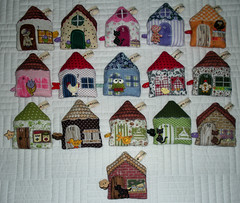 Trena Casinha  House Tape Mesure (Patchrosa) Tags: casa patchwork casinha trena tapemesure patcrosa