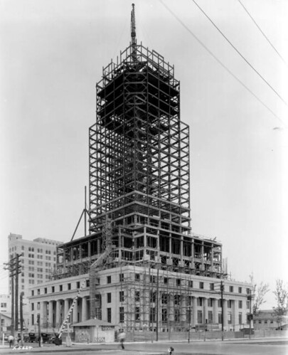 Dade County courthouse under construction