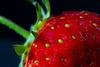 First homegrown strawberry [Explored 29th June 2013] (Graham Cashell (GC_Photography)) Tags: light summer food sun macro fruit fauna canon garden strawberry flora greystones seeds explore 7d wicklow explored interestingness336 i500 greystonescameraclub