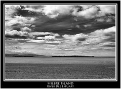Hilbre Island ~ River Dee Estuary (Mike Parr) Tags: blackandwhite water river mono blackwhite cheshire wirral westkirby riverdee hoylake hilbreisland nikond200 mikeparr flickriver riverdeeestuary opencultureliverpool mikeparrphotography