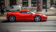 Ferrari 458 Italia (Mark Koscak Photography - | BigMarx |) Tags: vienna wien red italy male car female spider italia low fast automotive f1 ferrari forza gt granny rims panning scuderia gumball gt6 granturismo sportcar gt5 gumball3000 458 automotivephotography scuderiaferrari worldcars redcalipers forzaferrari fast5 ferrari458 grantur gumball3k forza5