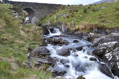 Irish Waterfalls (Dave-B2012) Tags: longexposure bridge ireland water grass landscape countryside waterfall nikon scenery rocks scenic countycork healypass d90 nikonflickraward blinkagain