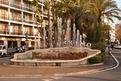 San Remo Fountain (Jillcolms) Tags: italy italianriviera sanremo italian riviera winter