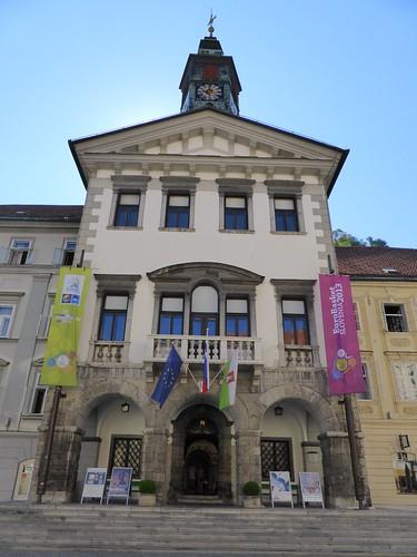 Ljubljana Town Hall (Ljubljanska mestna by Michael R Perry, on Flickr