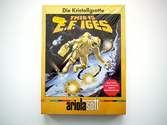 Die Kristallgrotte, This is E.F. IGES, Ariolasoft, C64 (zapposh) Tags: game soft box retro gaming cover swap commodore boxes trade c64 rare trades commodore64 cosmi ariola