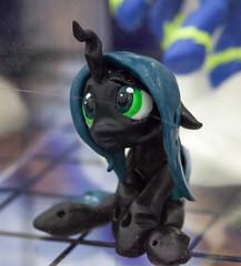 The Saddest Chrysalis (lupiniastudios) Tags: baltimore bronies brony bronycon con convention lenscanon100mmf28lmacromine macro maryland md mlp mylittlepony pegasis pegasister ponies pony sculpture unitedstates