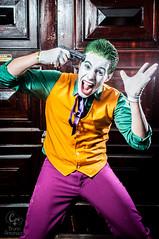 Madness Time 2 (Bruno Antonucci) Tags: brazil man anime green sergio rio brasil de janeiro purple cosplay handsome madness joker cosplayer carioca duarte coringa 2013 strobist