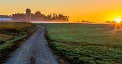 Good Morning America (Mi Bob) Tags: sunrise unitedstates michigan grandriver allendalechartertownship