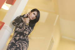 I know your image of me is what I hope to be (Suryo Pras) Tags: fashion lady pose nikon angle low more passion elegant less officer