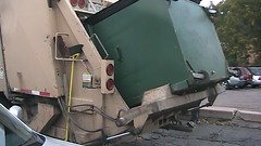 tipping a dumpster, mechanism unique to Colorado (Scott (tm242)) Tags: trash dumpster truck garbage side debris rear disposal front bin collection rubbish formula trucks fl waste refuse recycle loader removal recycling load gs hopper collect packer rl haul asl heil recycler msl powertrak
